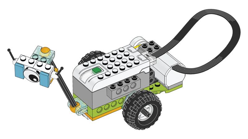 Educazione LEGO - Progetto introduttivo, parte A - Milo, il Rover Scientifico