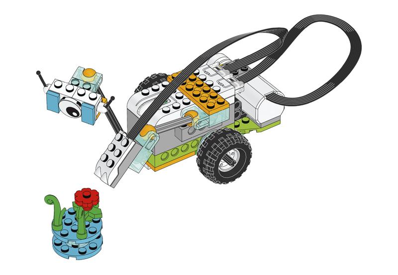 Educazione LEGO - Progetto introduttivo, parte B - Sensore di Movimento di Milo il Rover Scientifico