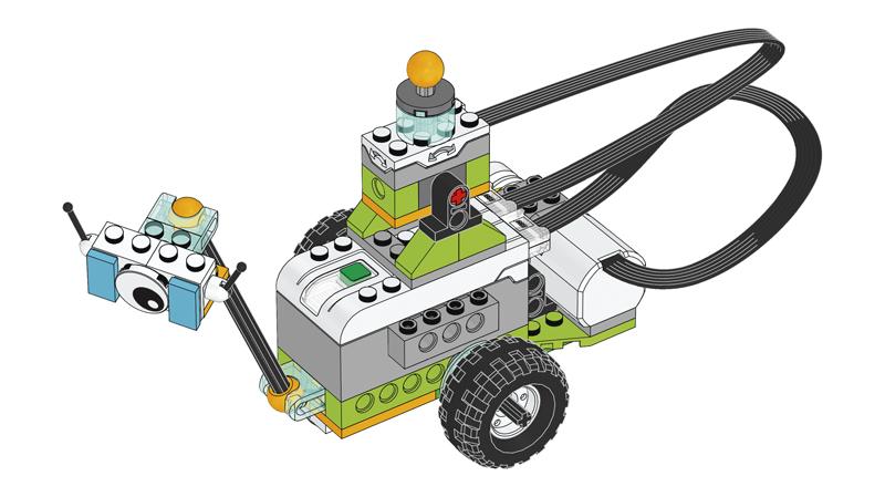 Educazione LEGO - Progetto introduttivo, parte C - Sensore di Inclinazione di Milo il Rover Scientifico
