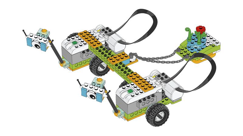 Educazione LEGO - Progetto introduttivo, parte D - Collaborazione per Milo, il Rover Scientifico