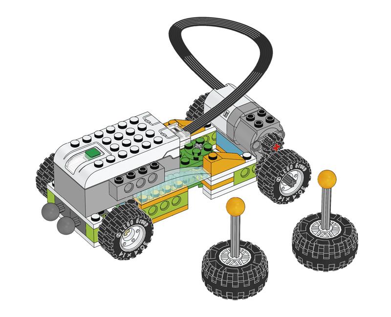 Educazione LEGO - Spostamento di Materiali