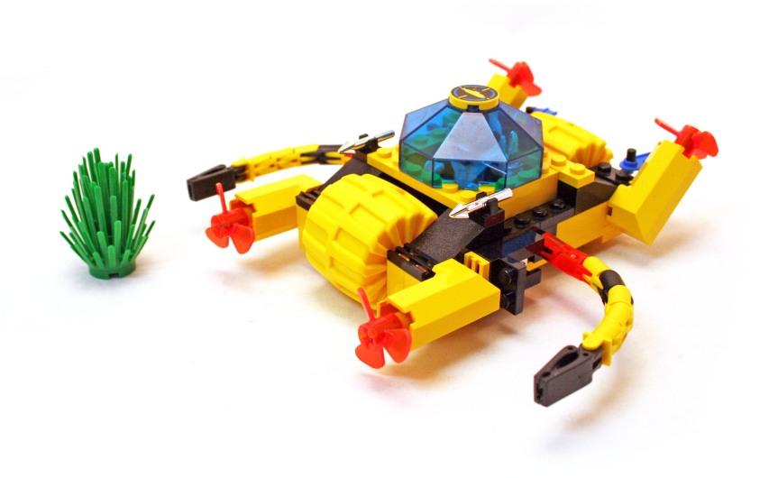 LEGO Aquazone Aquanauts Escavatore Diamanti - Set 6145