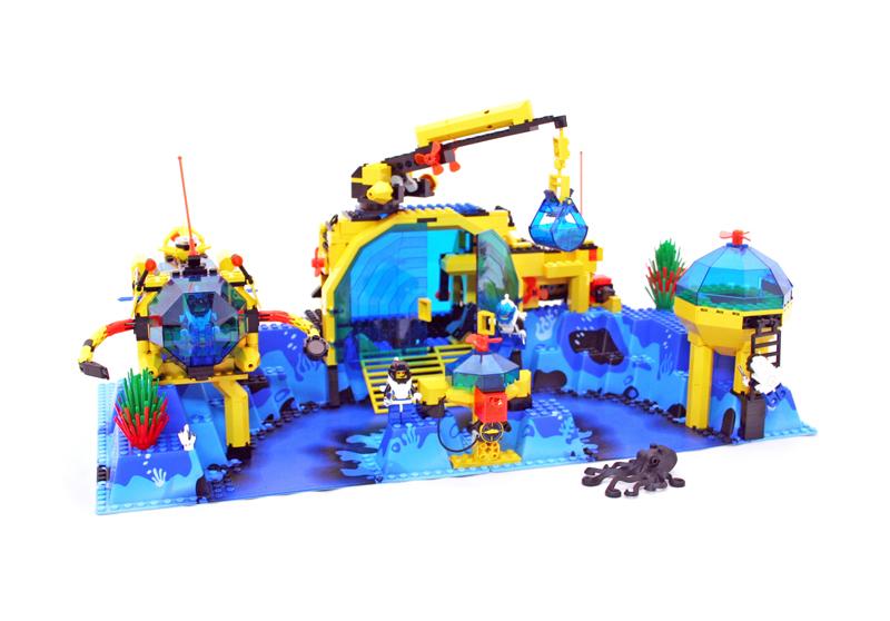 LEGO Aquazone Aquanauts - Laboratorio a Cupola Nettuno - Aqua Dome 7 - Set 6195