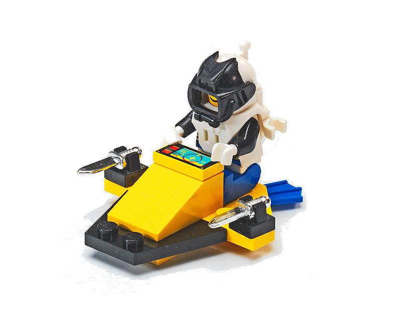 LEGO Aquazone Aquanauts Scooter Subaqueo - Set 1806