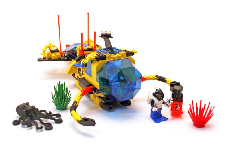 LEGO Aquazone Aquanauts - Sottomarino Estrazione Cristalli Aquanaut DSRV 2 - Set 6175