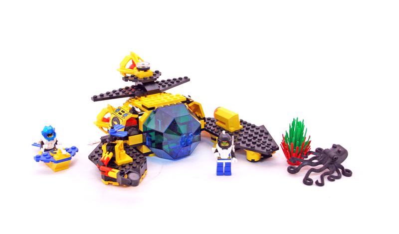 LEGO Aquazone Aquanauts - Sottomarino Sea Claw 7 - Set 1822
