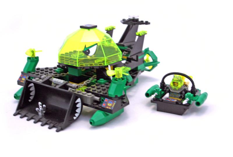 LEGO Aquazone Aquaraiders Bulldozer Subacqueo - Set 2161