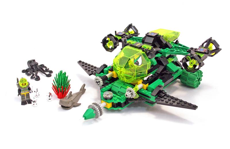 LEGO Aquazone Aquaraiders Idropompa Frantuma Scogliere - Set 2162