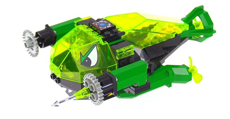 LEGO Aquazone Aquaraiders Spazza Cristalli - Set 2160