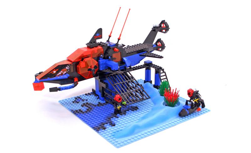 LEGO Aquazone Aquasharks Cava di Cristalli degli Squali - Set 6190