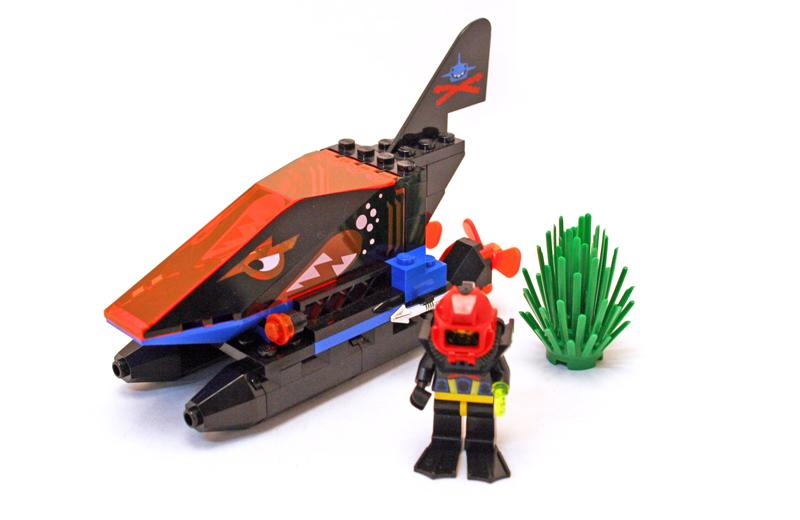 LEGO Aquazone Aquasharks Squalo Spia - Set 6135