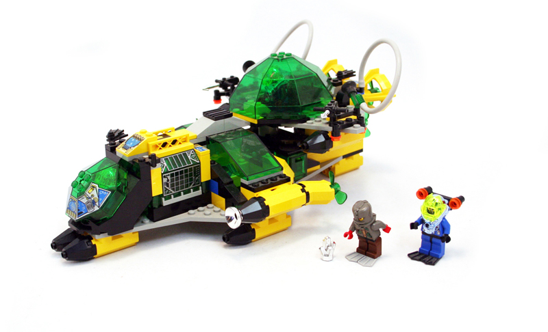 LEGO Aquazone Hydronauts Sottomarino Idraulico da Ricerca - Set 6180