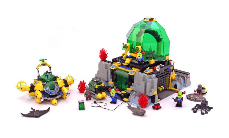 LEGO Aquazone Hydronauts Stazione di Cristallizzazione Idraulica - Set 6199