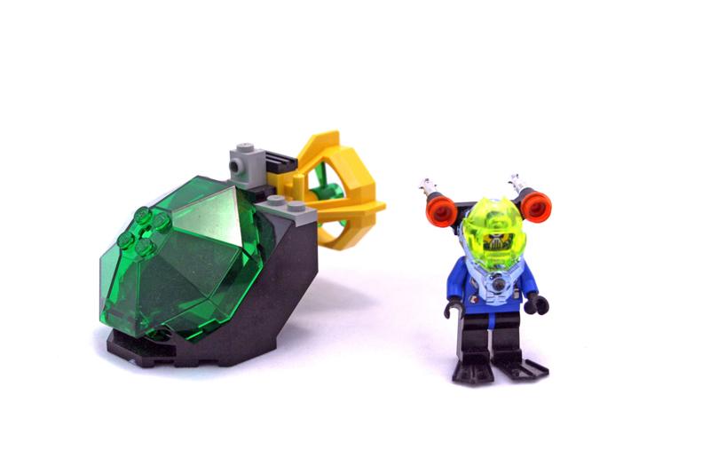 LEGO Aquazone Hydronauts Subacqueo Solitario - Set 6110
