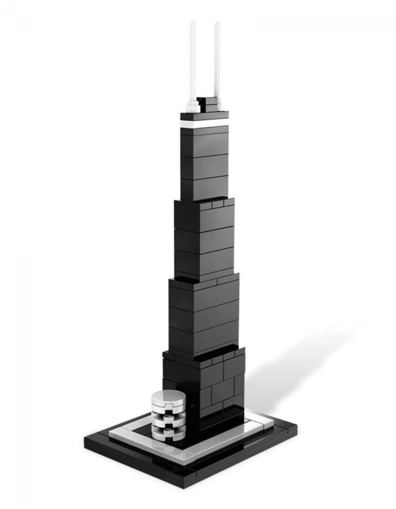 LEGO Architecture - Centro John Hancock, Chicago, Stati Uniti - Set 21001