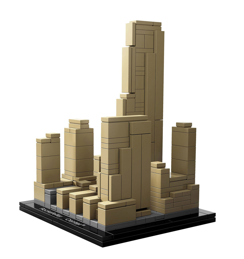 LEGO Architecture - Centro Rockefeller, New York, Stati Uniti - Set 21007