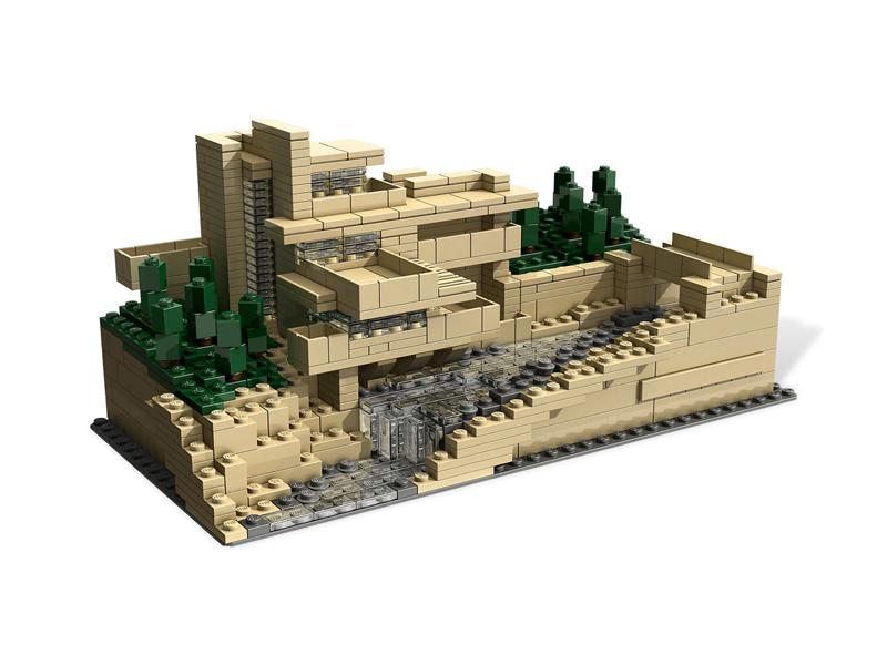 LEGO Architecture - Fallingwater, Pennsylvania, Stati Uniti - Set 21005
