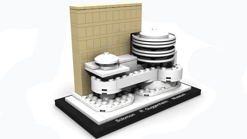 LEGO Architecture - Museo Solomon R. Guggenheim, New York, Stati Uniti - Set 21004