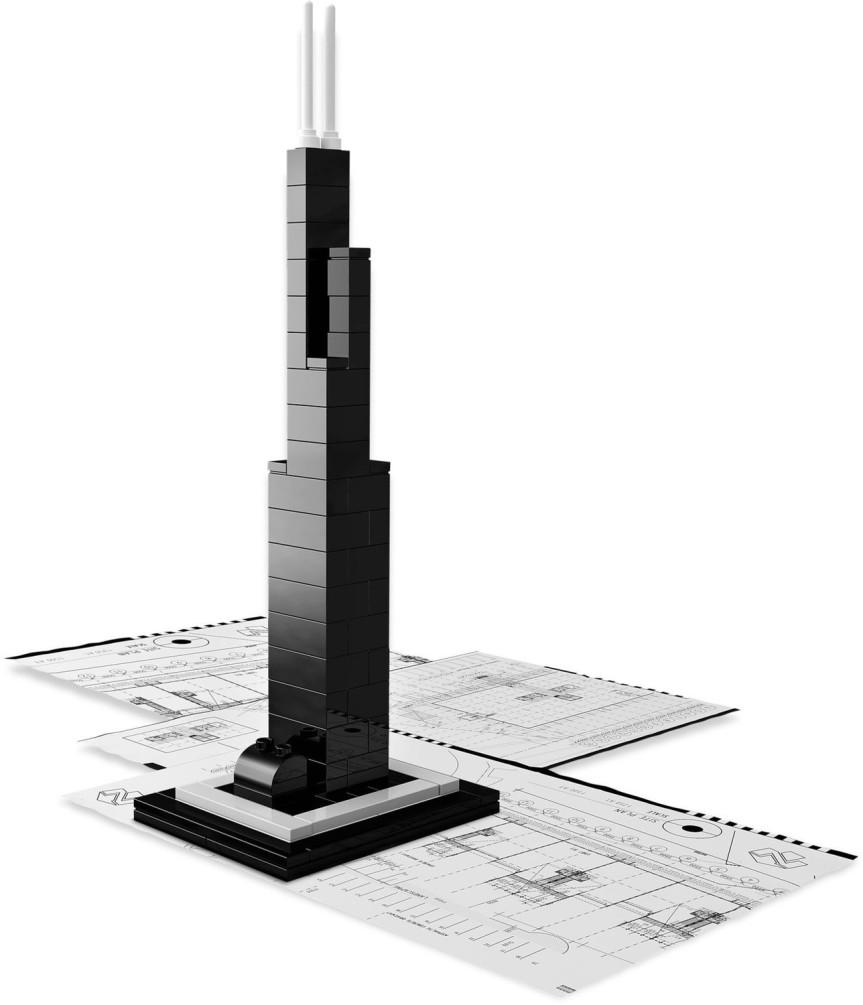 LEGO Architecture - Willis Tower Chicago Stati Uniti - Set 21000