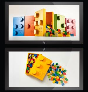 LEGO Braille per Bambini non vedenti e ipovedenti