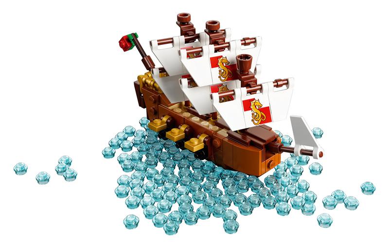 LEGO Ideas - Nave nella Bottiglia - La Nave