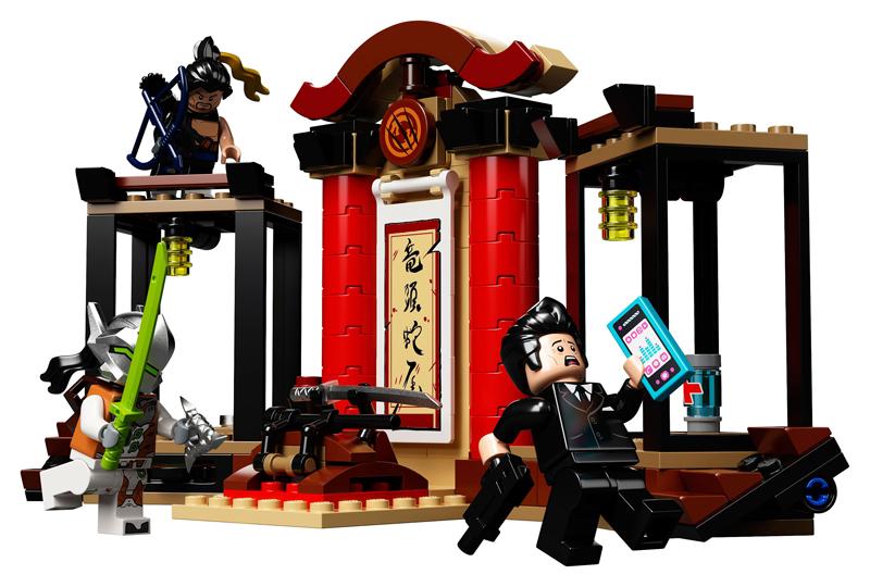 LEGO Overwatch - Hanzo vs Genji - Set 75971