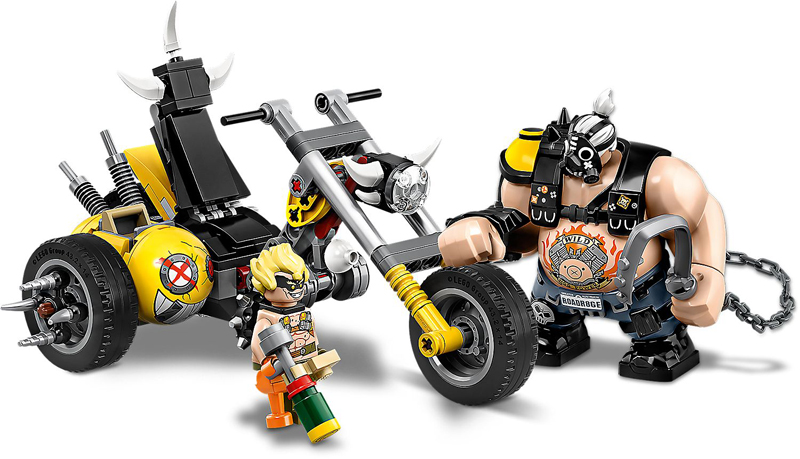 LEGO Overwatch - Junkrat & Roadhog - Set 75977 + Speed Building