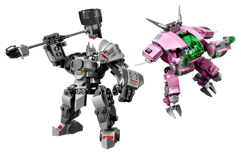 LEGO Overwatch - Mecha di D.Va e Reinhardt - Set 75973