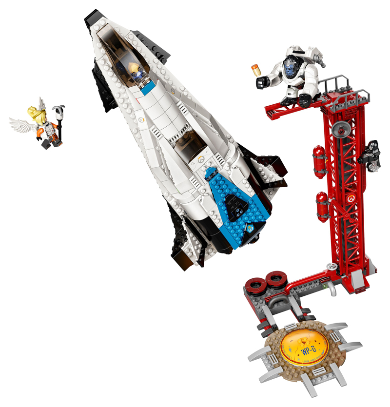 LEGO Overwatch - Osservatorio: Gibilterra - Set 75975 + Speed Building