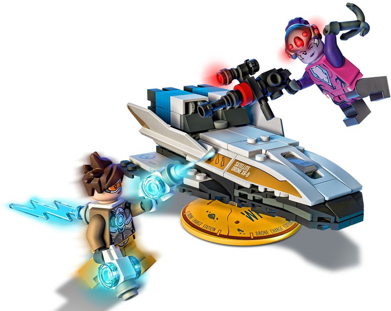 LEGO Overwatch - Tracer vs Widowmaker - Set 75970