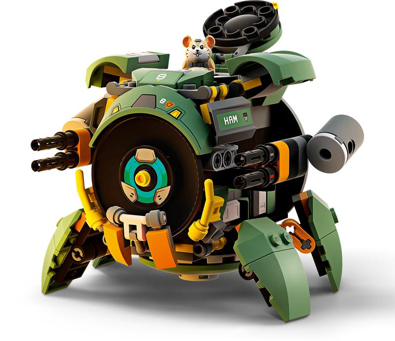 LEGO Overwatch - Wrecking Ball - Set 75976 + Speed Building