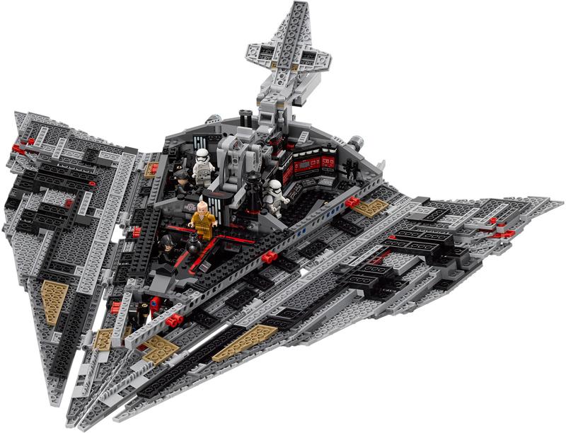 LEGO Star Wars – Star Destroyer del Primo Ordine - Set 75190 - Apertura Sportelli