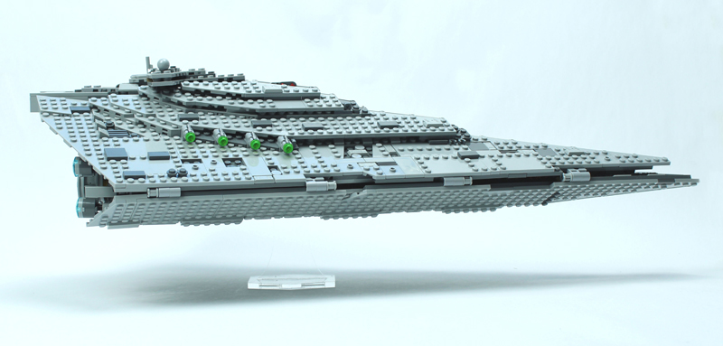 LEGO Star Wars – Star Destroyer del Primo Ordine – Set 75190 + Speed Building