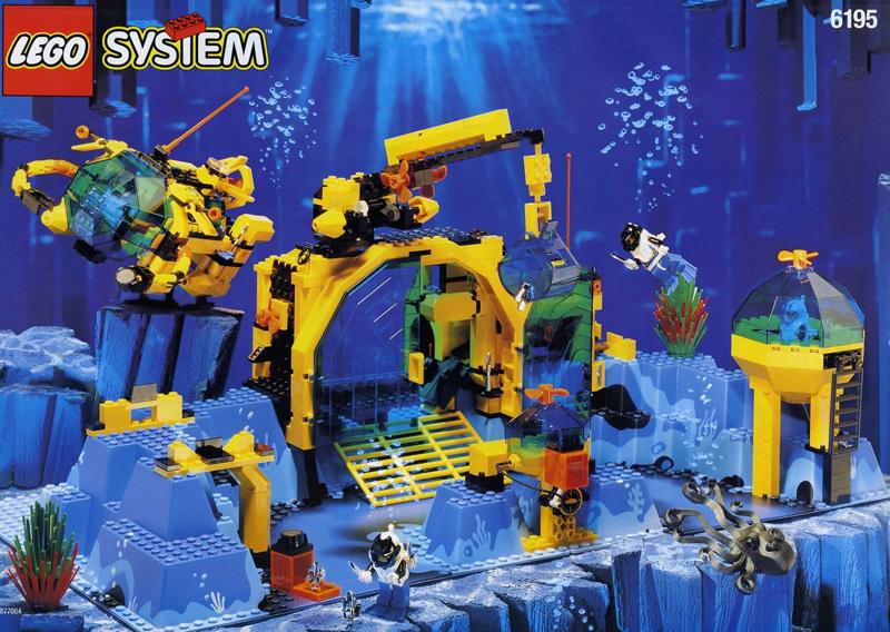 Lista Set LEGO Aquazone Aquanauts