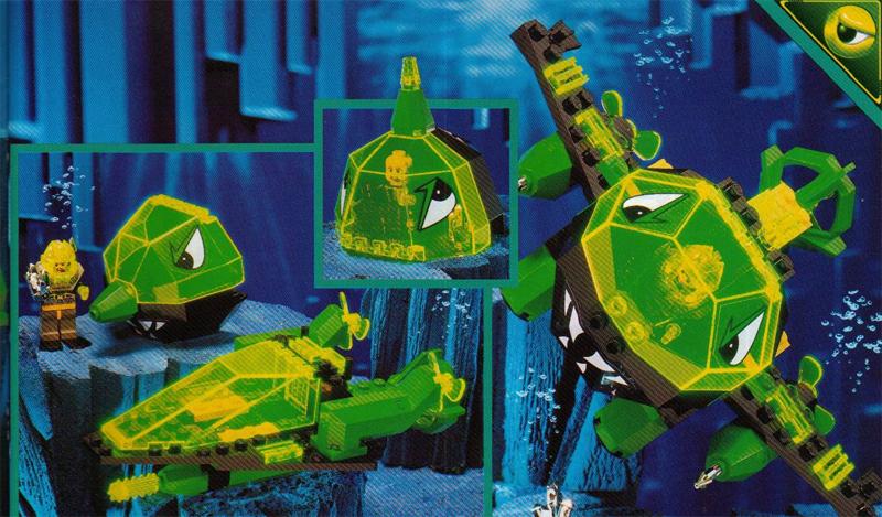 Lista Set LEGO Aquazone Aquaraiders