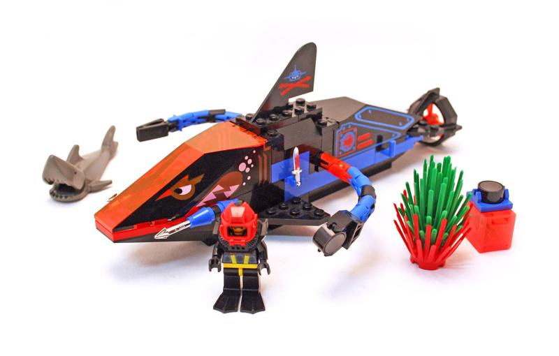 Lista Set LEGO Aquazone - Aquasharks