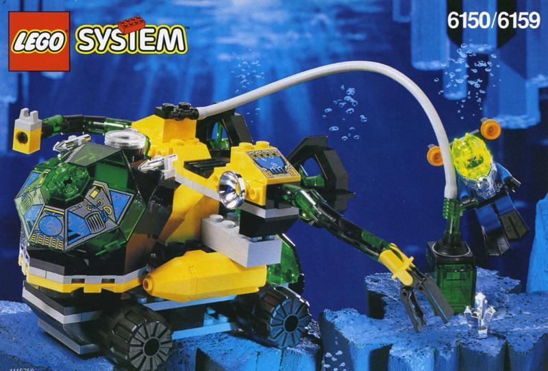 Lista Set LEGO Aquazone Hydronauts