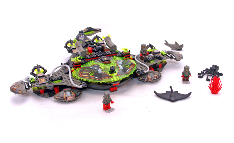 Lista Set LEGO Aquazone - Stingrays