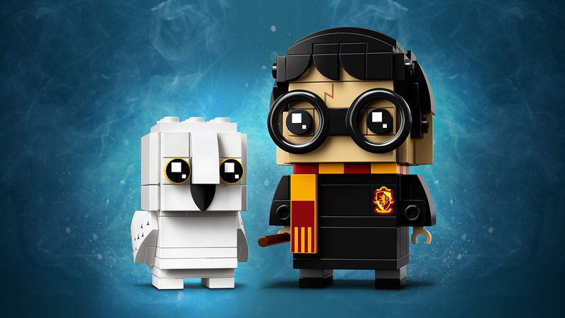 Lista Set LEGO BrickHeadz - Harry Potter