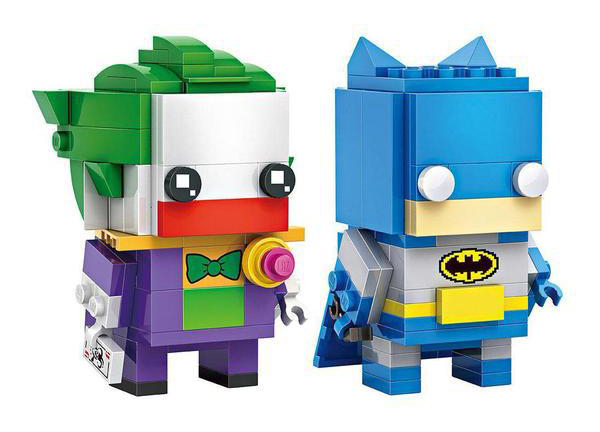 Lista Set LEGO BrickHeadz - Joker e Batman