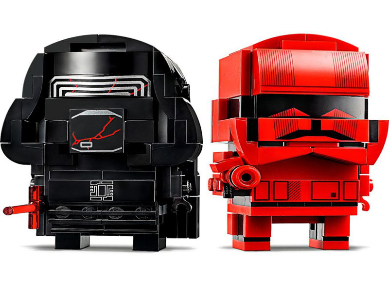 Lista Set LEGO BrickHeadz - Red vs Black