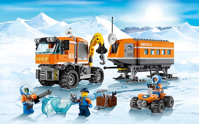 Lista Set LEGO City - Ghiacciaio
