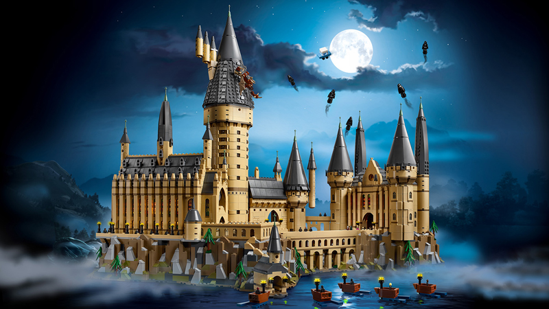 Lista Set LEGO Harry Potter - Castello di Hogwarts