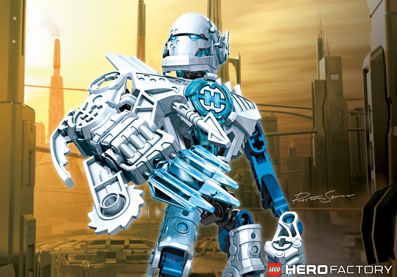 Lista Set LEGO Hero Factory - White Hero