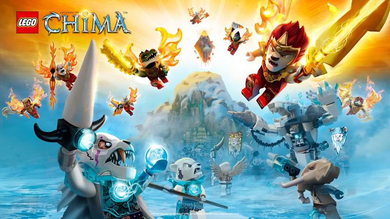 Lista Set LEGO Legends of Chima - Versus