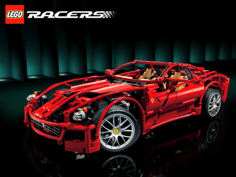 Lista Set LEGO Racers - Ferrari