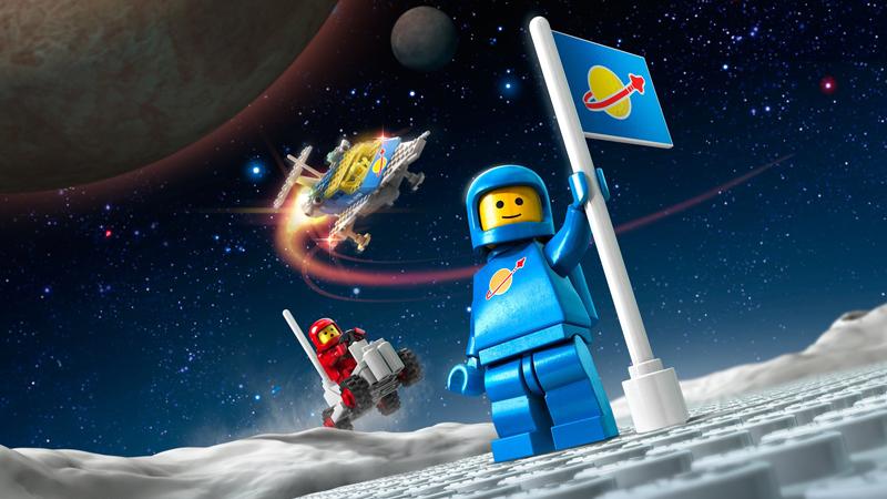 Lista Set LEGO Space - Bandiera sulla Luna
