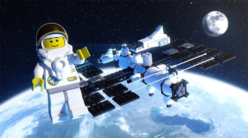 Lista Set LEGO Space - Stazione Spaziale