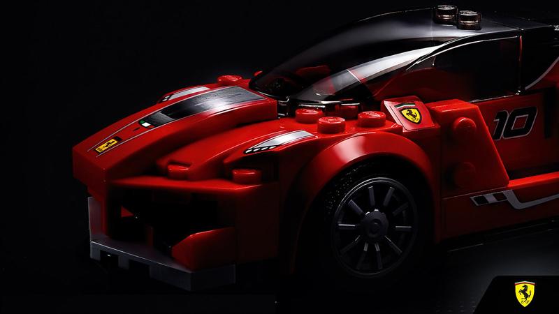 Lista Set LEGO Speed Champions - Ferrari