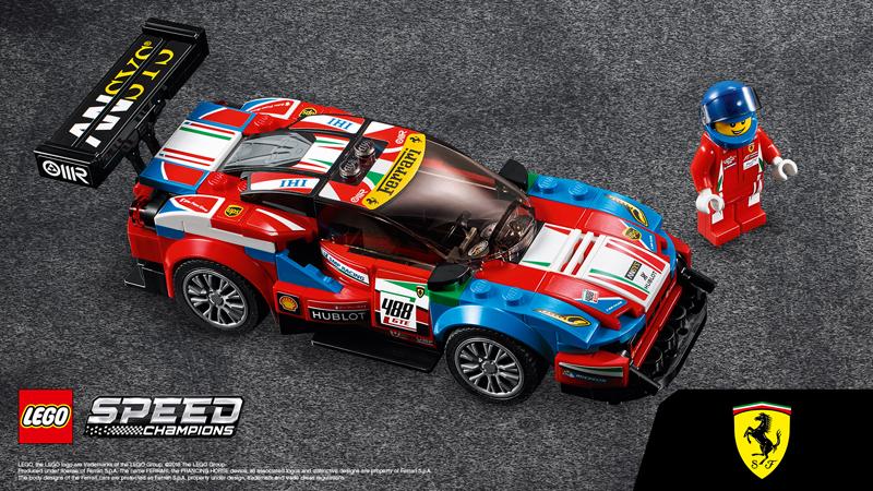 Lista Set LEGO Speed Champions - Ferrari FXX
